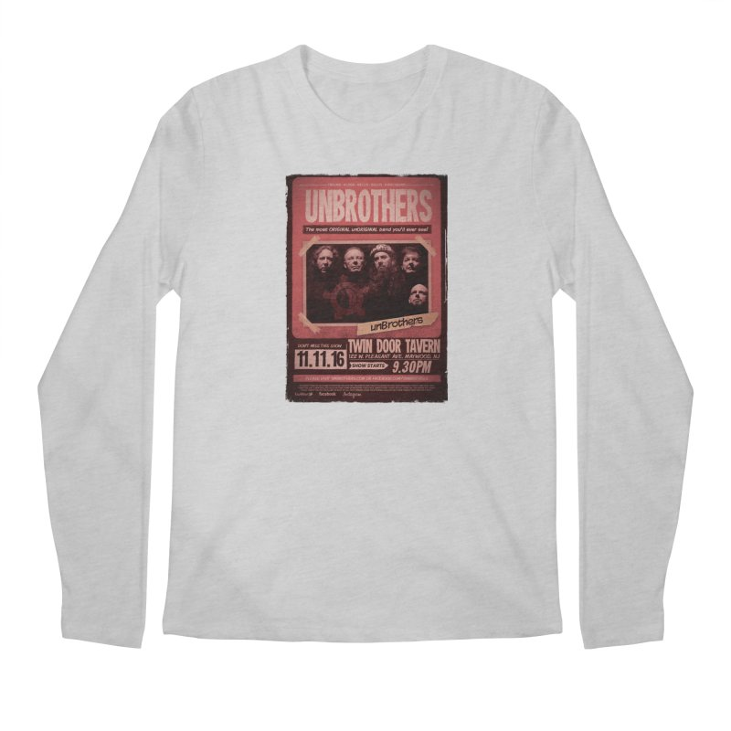 unBrothers Twin Door Tavern Concert Shirt Men's Longsleeve T-Shirt by unStuff by unBrothers
