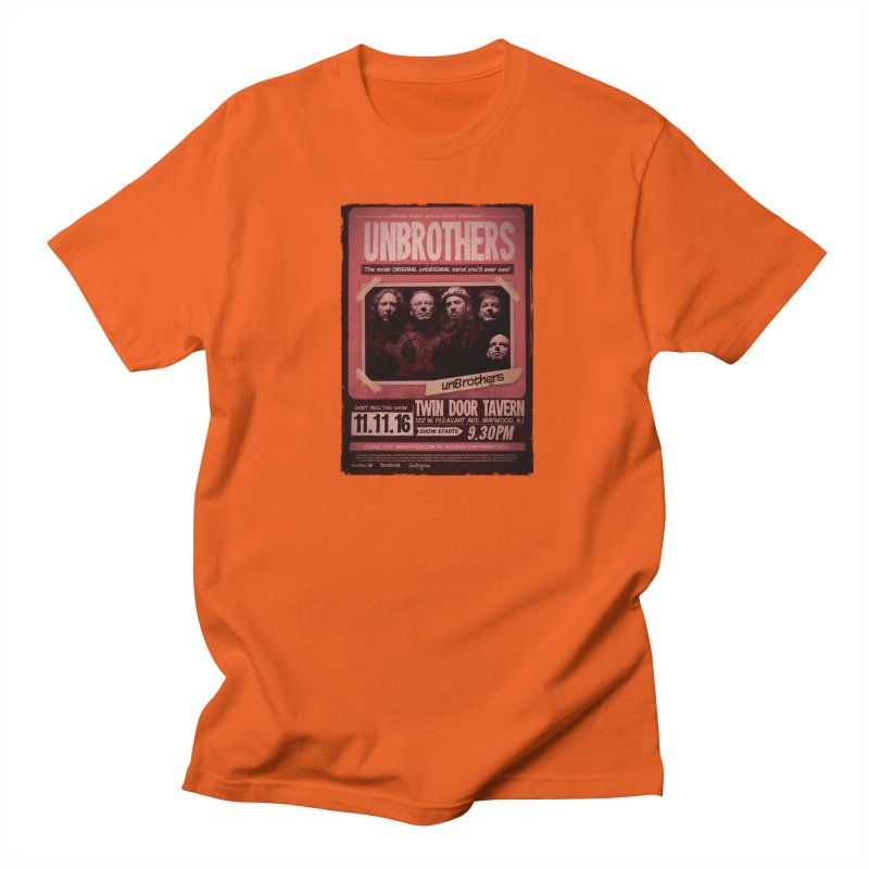 unBrothers Twin Door Tavern Concert Shirt Men's T-Shirt by unStuff by unBrothers