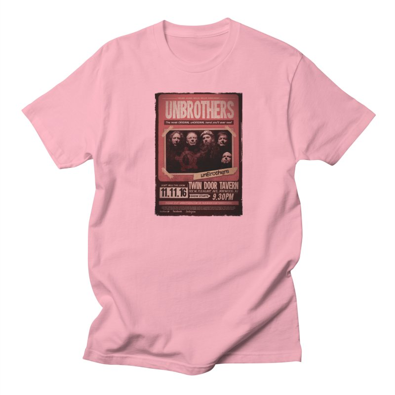 unBrothers Twin Door Tavern Concert Shirt Men's Regular T-Shirt by unStuff by unBrothers