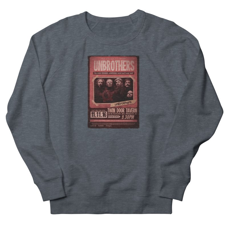 unBrothers Twin Door Tavern Concert Shirt Women's French Terry Sweatshirt by unStuff by unBrothers