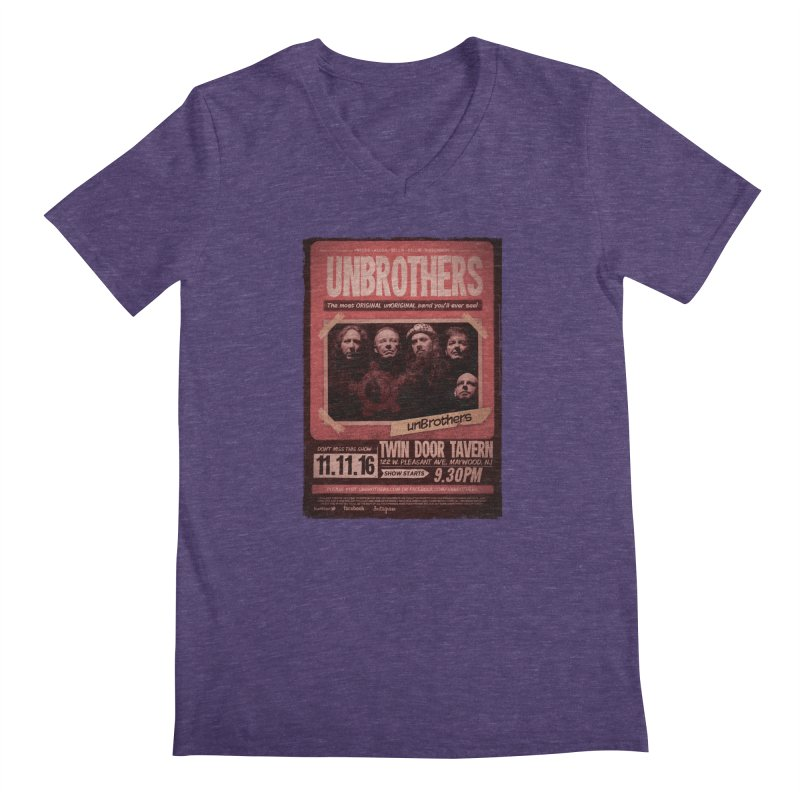 unBrothers Twin Door Tavern Concert Shirt Men's V-Neck by unStuff by unBrothers