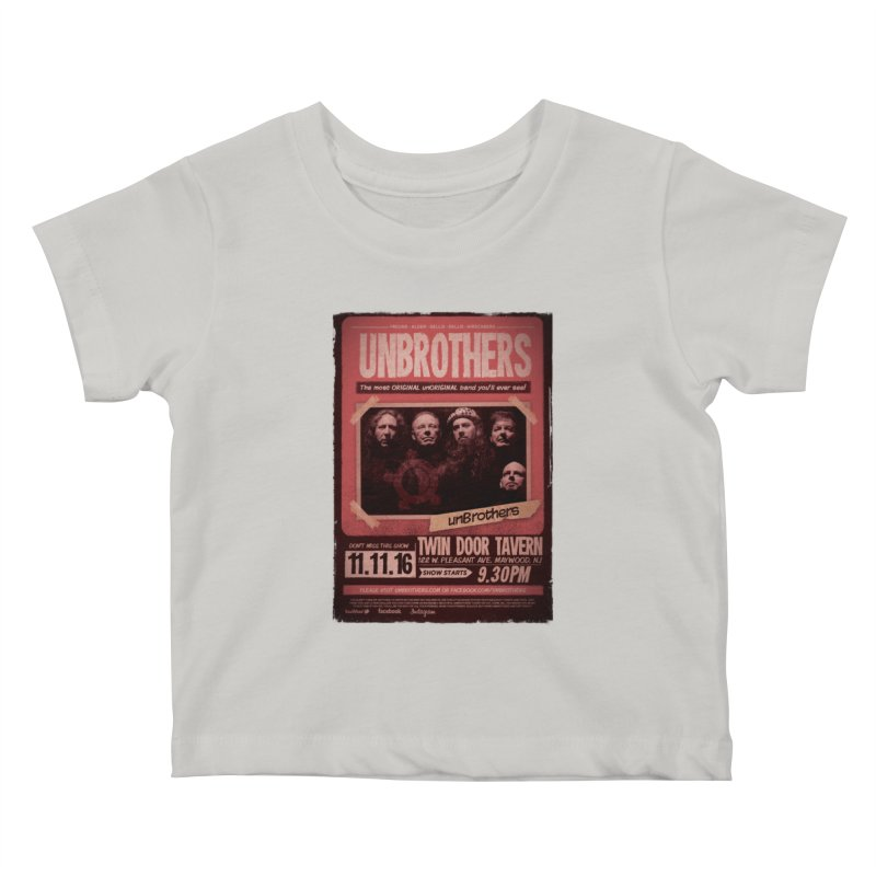 unBrothers Twin Door Tavern Concert Shirt Kids Baby T-Shirt by unStuff by unBrothers