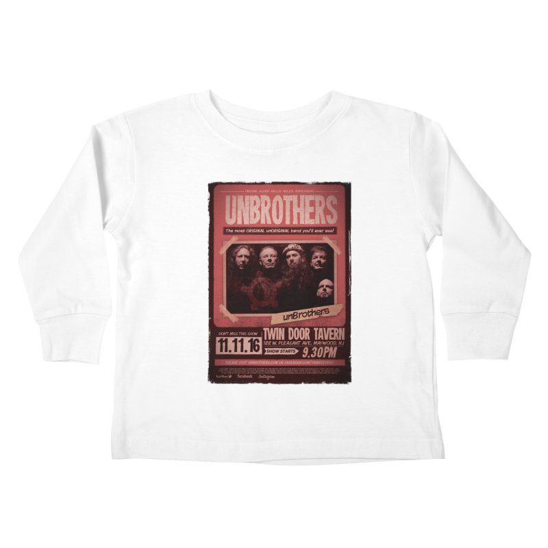 unBrothers Twin Door Tavern Concert Shirt Kids Toddler Longsleeve T-Shirt by unStuff by unBrothers