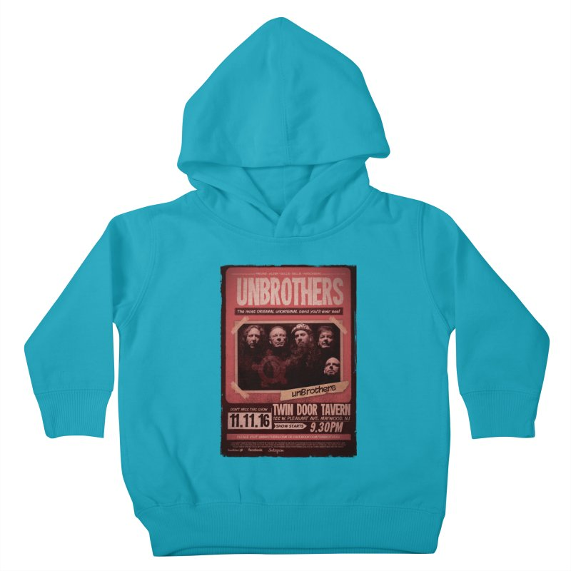 unBrothers Twin Door Tavern Concert Shirt Kids Toddler Pullover Hoody by unStuff by unBrothers