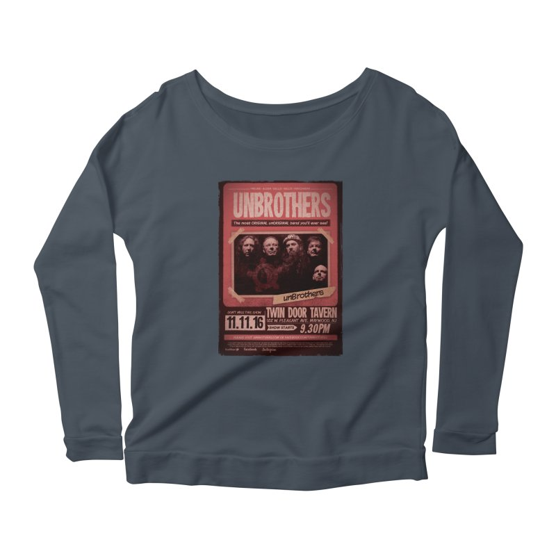 unBrothers Twin Door Tavern Concert Shirt Women's Longsleeve Scoopneck  by unStuff by unBrothers