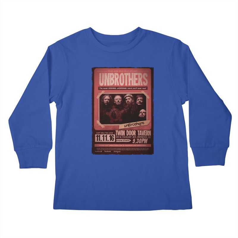 unBrothers Twin Door Tavern Concert Shirt Kids Longsleeve T-Shirt by unStuff by unBrothers