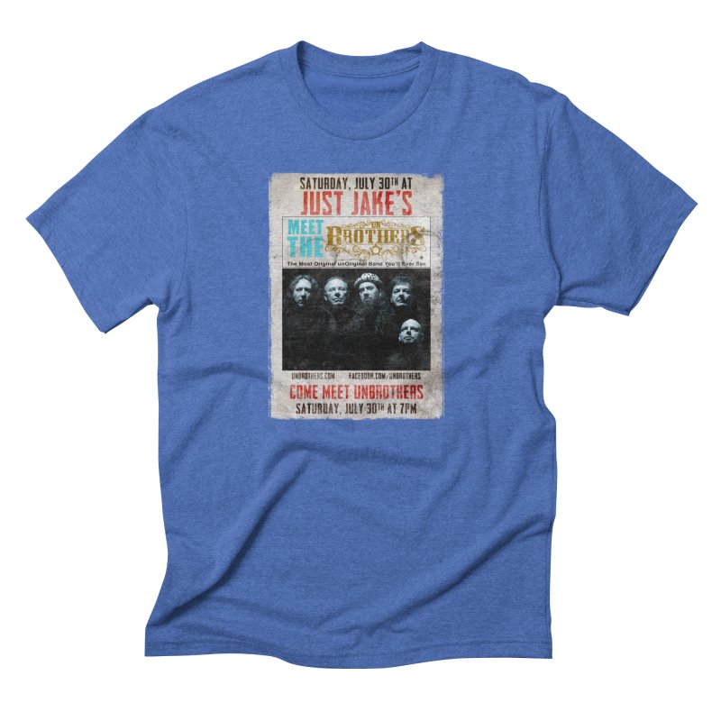 unBrothers Just Jake's Concert Shirt Men's T-Shirt by unStuff by unBrothers