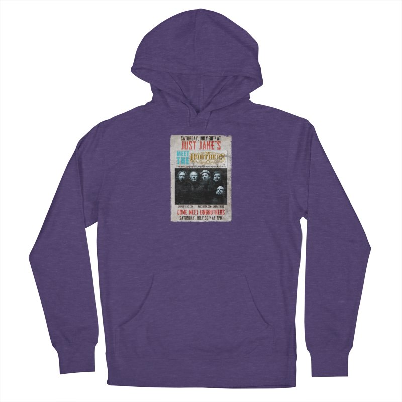 unBrothers Just Jake's Concert Shirt Men's French Terry Pullover Hoody by unStuff by unBrothers