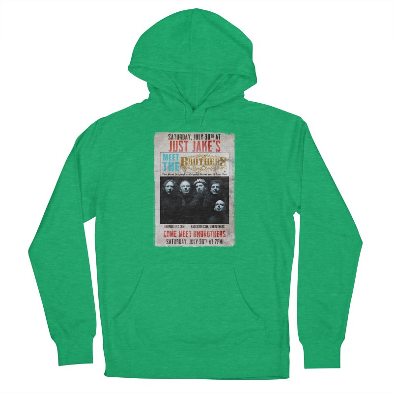 unBrothers Just Jake's Concert Shirt Women's French Terry Pullover Hoody by unStuff by unBrothers
