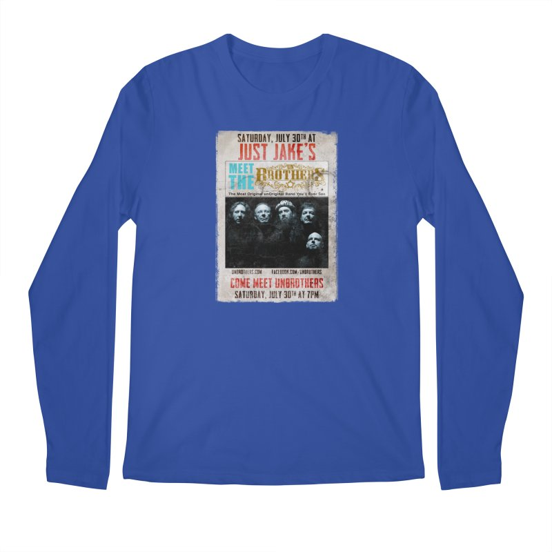 unBrothers Just Jake's Concert Shirt Men's Regular Longsleeve T-Shirt by unStuff by unBrothers