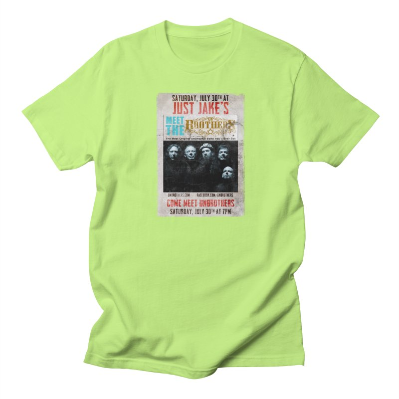 unBrothers Just Jake's Concert Shirt Men's Regular T-Shirt by unStuff by unBrothers