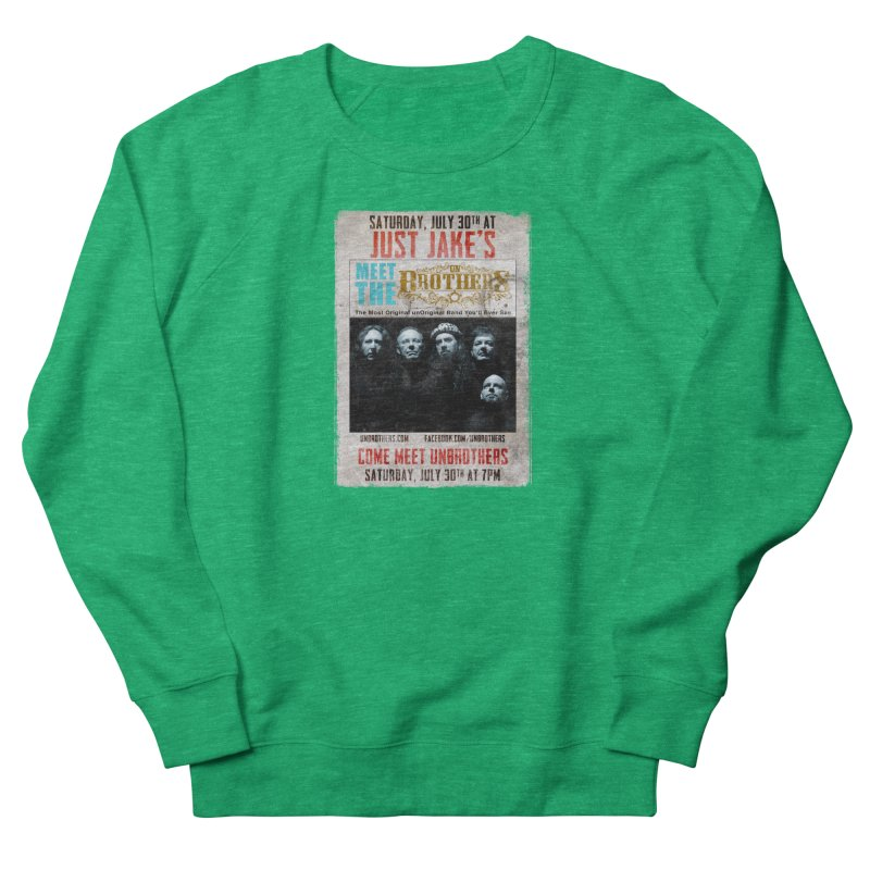 unBrothers Just Jake's Concert Shirt Women's French Terry Sweatshirt by unStuff by unBrothers