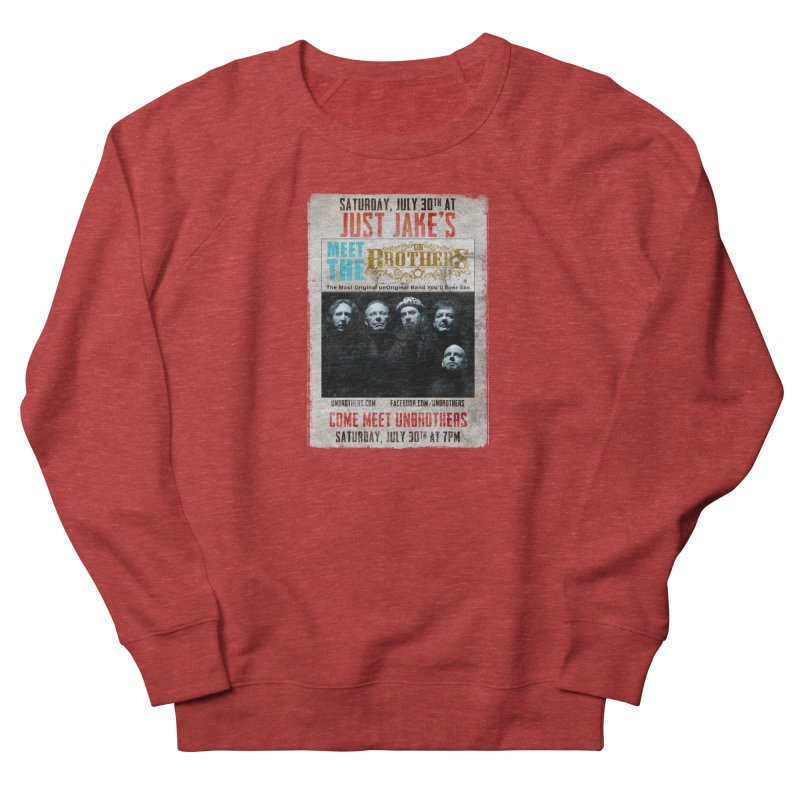 unBrothers Just Jake's Concert Shirt Men's French Terry Sweatshirt by unStuff by unBrothers