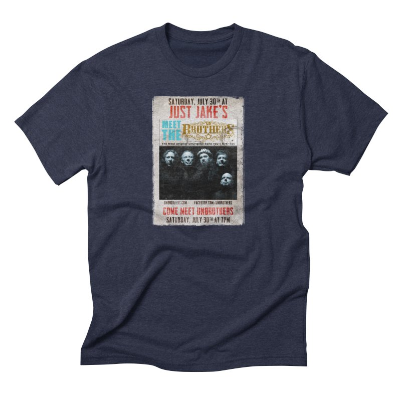 unBrothers Just Jake's Concert Shirt Men's Triblend T-Shirt by unStuff by unBrothers
