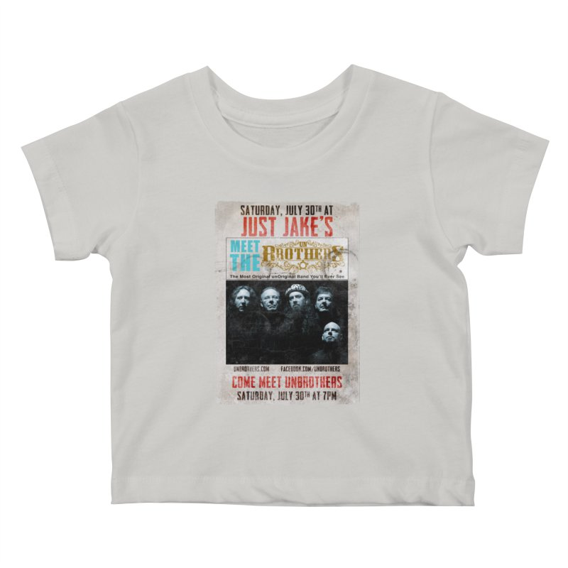 unBrothers Just Jake's Concert Shirt Kids Baby T-Shirt by unStuff by unBrothers