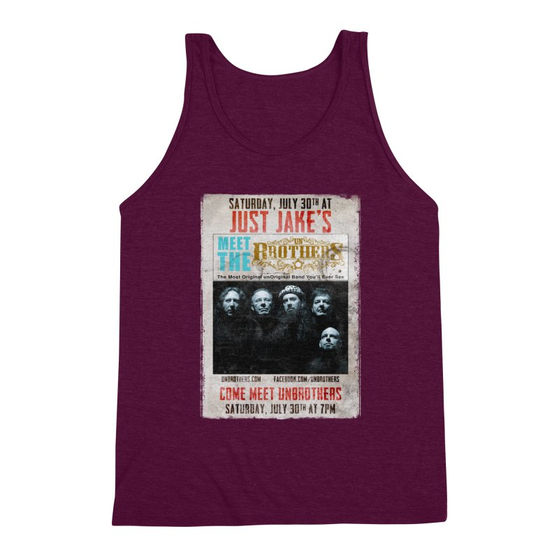 unBrothers Just Jake's Concert Shirt Men's Triblend Tank by unStuff by unBrothers