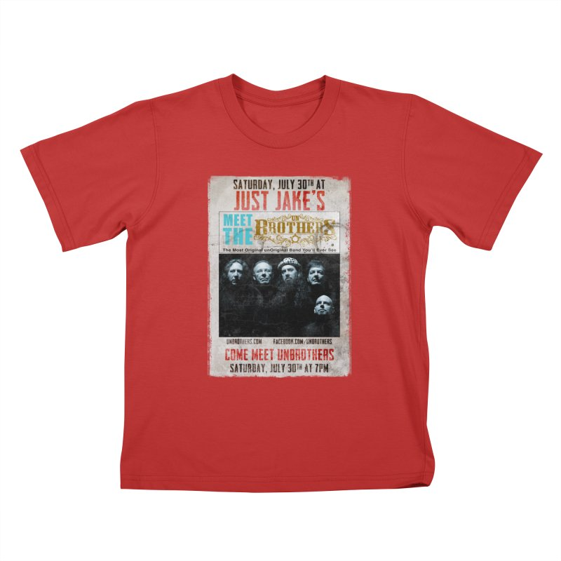 unBrothers Just Jake's Concert Shirt Kids T-Shirt by unStuff by unBrothers
