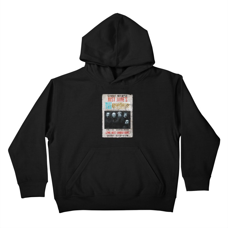 unBrothers Just Jake's Concert Shirt Kids Pullover Hoody by unStuff by unBrothers