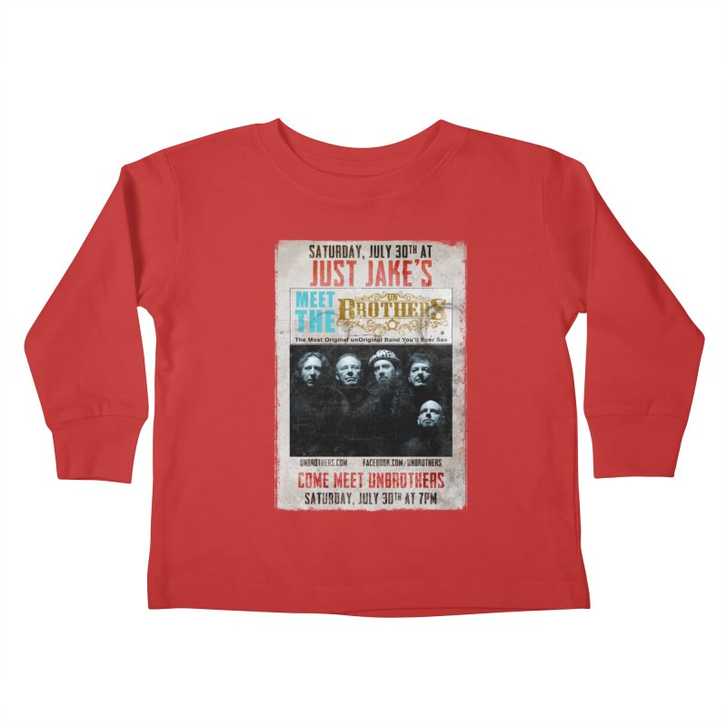 unBrothers Just Jake's Concert Shirt Kids Toddler Longsleeve T-Shirt by unStuff by unBrothers