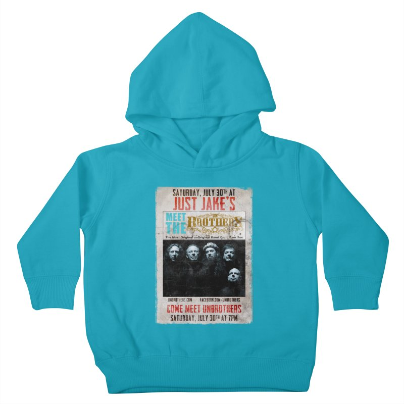 unBrothers Just Jake's Concert Shirt Kids Toddler Pullover Hoody by unStuff by unBrothers