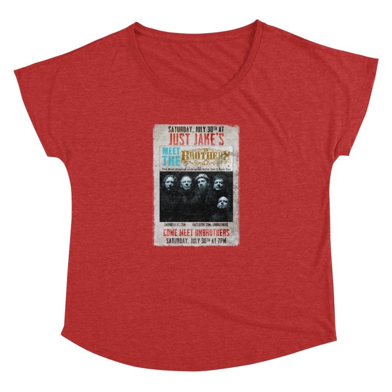 unBrothers Just Jake's Concert Shirt Women's Dolman by unStuff by unBrothers