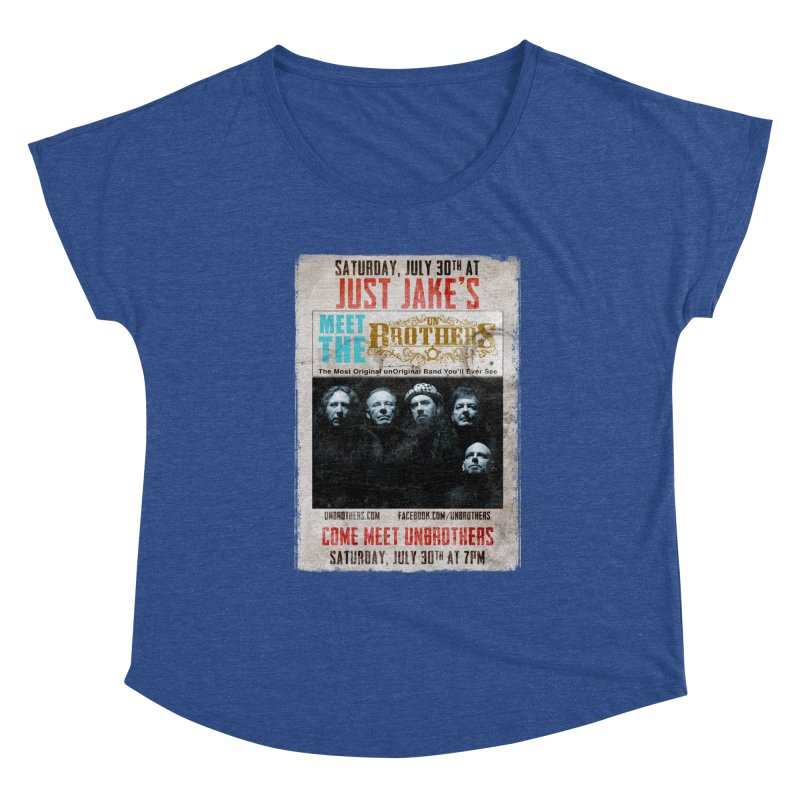 unBrothers Just Jake's Concert Shirt Women's Dolman Scoop Neck by unStuff by unBrothers