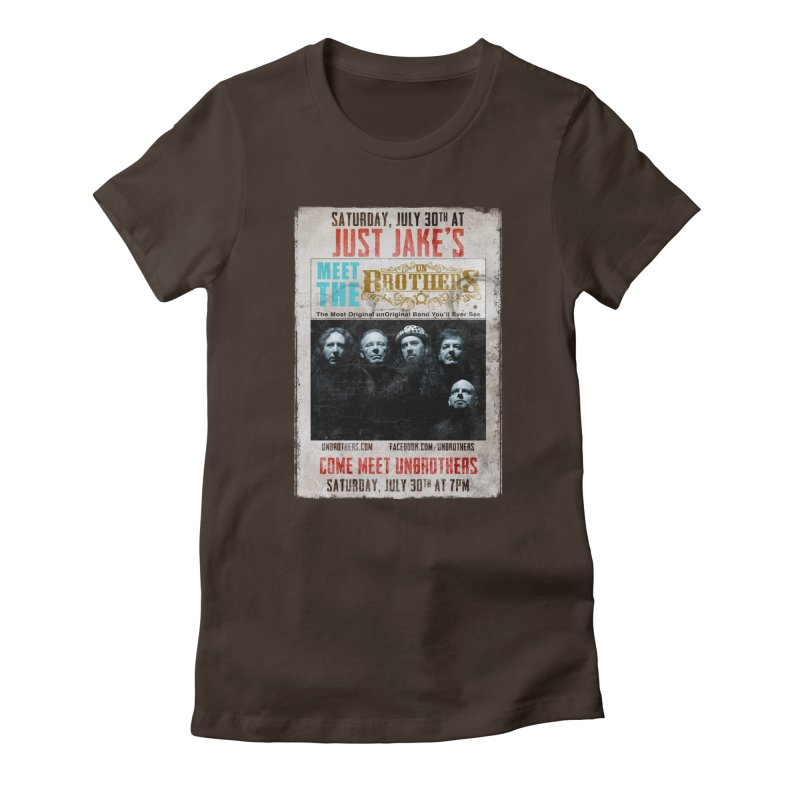 unBrothers Just Jake's Concert Shirt Women's Fitted T-Shirt by unStuff by unBrothers