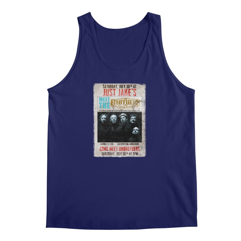 unBrothers Just Jake's Concert Shirt Men's Regular Tank by unStuff by unBrothers