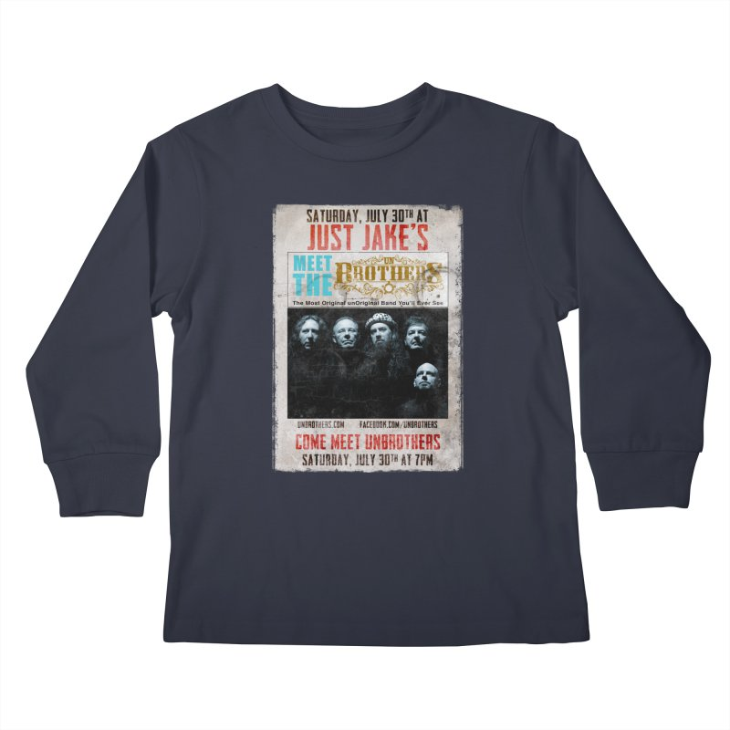unBrothers Just Jake's Concert Shirt Kids Longsleeve T-Shirt by unStuff by unBrothers