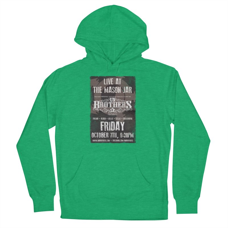 unBrothers Mason Jar Concert Shirt Women's French Terry Pullover Hoody by unStuff by unBrothers