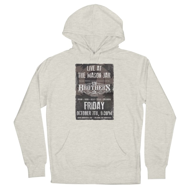 unBrothers Mason Jar Concert Shirt Men's French Terry Pullover Hoody by unStuff by unBrothers