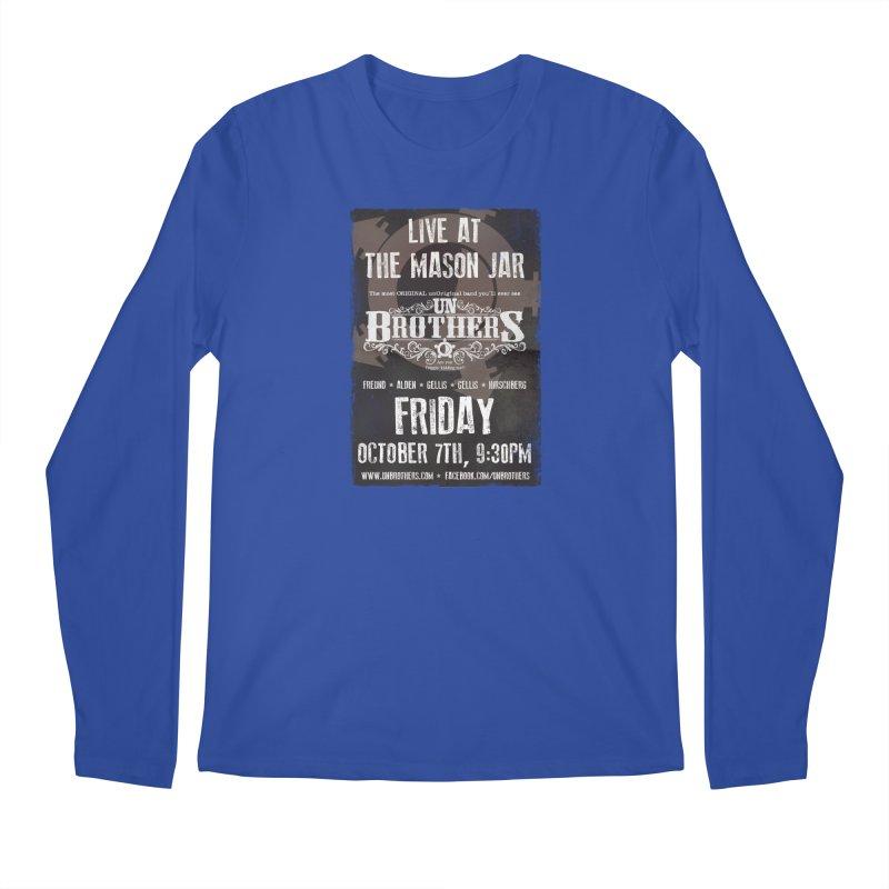 unBrothers Mason Jar Concert Shirt Men's Regular Longsleeve T-Shirt by unStuff by unBrothers