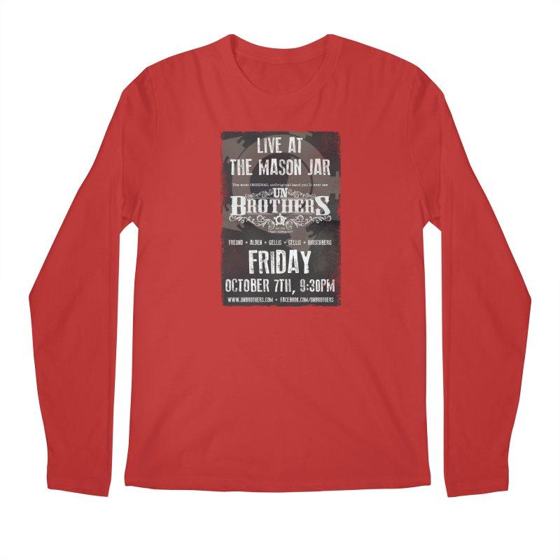 unBrothers Mason Jar Concert Shirt Men's Longsleeve T-Shirt by unStuff by unBrothers
