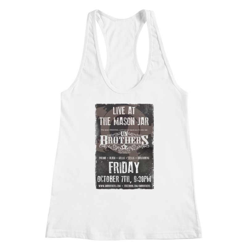 unBrothers Mason Jar Concert Shirt Women's Tank by unStuff by unBrothers