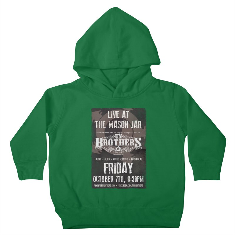 unBrothers Mason Jar Concert Shirt Kids Toddler Pullover Hoody by unStuff by unBrothers