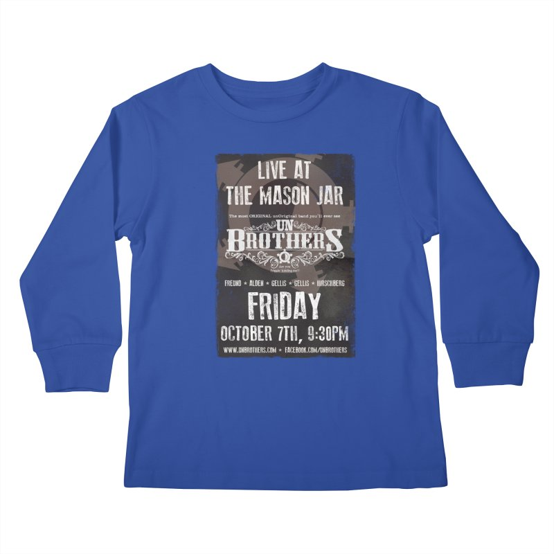 unBrothers Mason Jar Concert Shirt Kids Longsleeve T-Shirt by unStuff by unBrothers