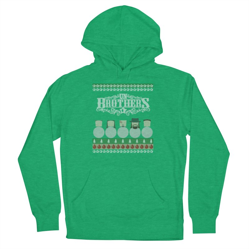 UB Ugly Sweater Men's French Terry Pullover Hoody by unStuff by unBrothers