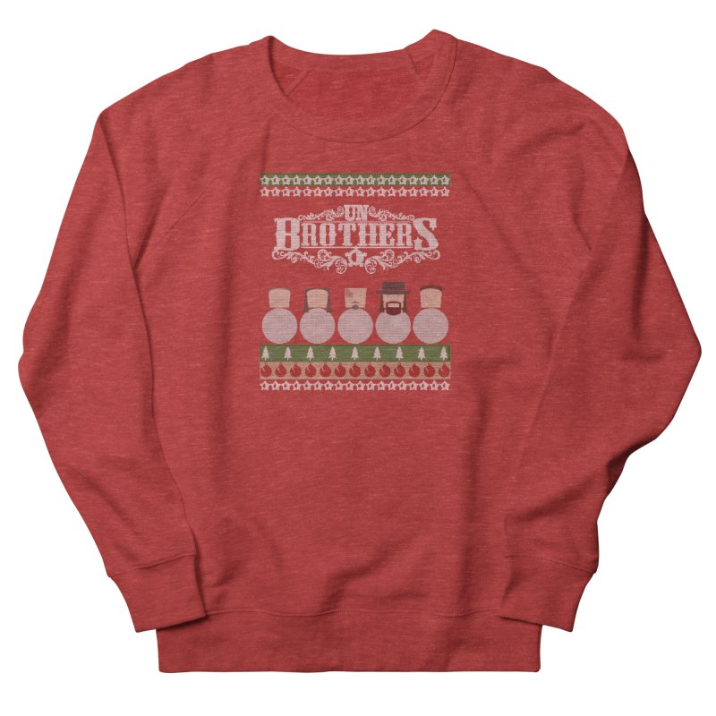 UB Ugly Sweater Men's French Terry Sweatshirt by unStuff by unBrothers