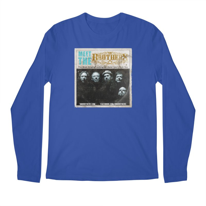 Meet the unBrothers Men's Regular Longsleeve T-Shirt by unStuff by unBrothers