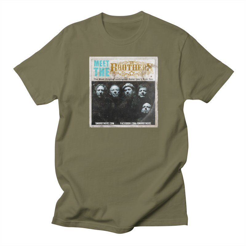 Meet the unBrothers Men's Regular T-Shirt by unStuff by unBrothers