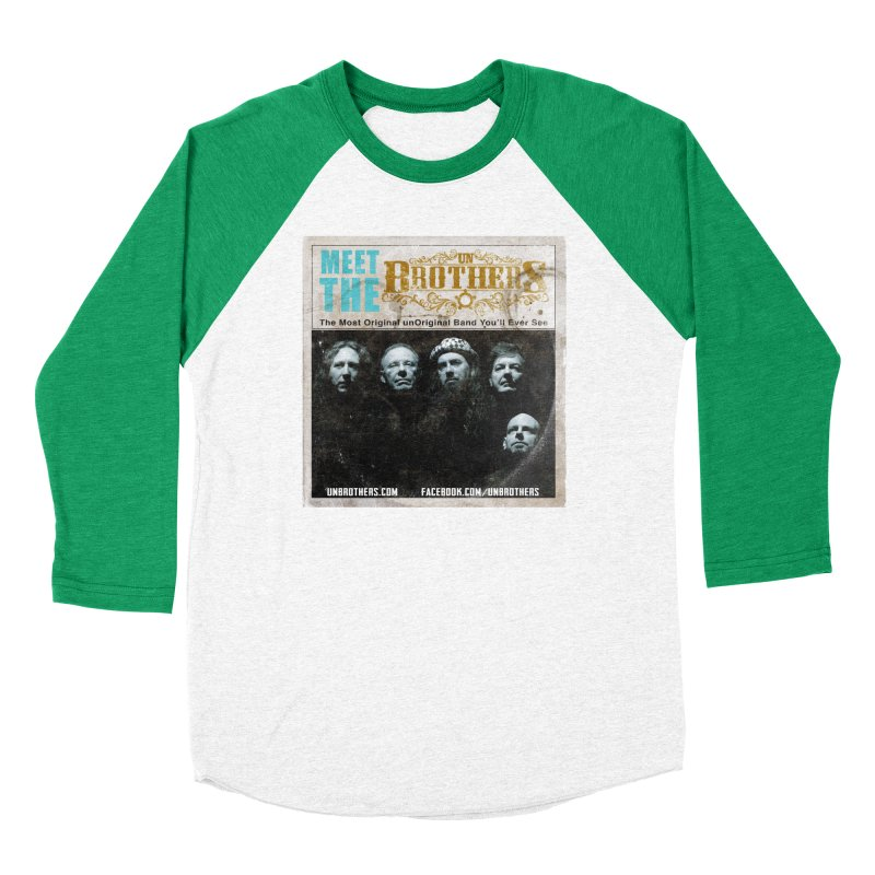 Meet the unBrothers Women's Baseball Triblend Longsleeve T-Shirt by unStuff by unBrothers