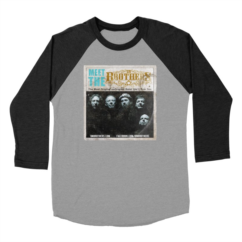 Meet the unBrothers Men's Baseball Triblend Longsleeve T-Shirt by unStuff by unBrothers