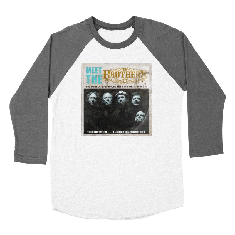 Meet the unBrothers Men's Baseball Triblend T-Shirt by unStuff by unBrothers