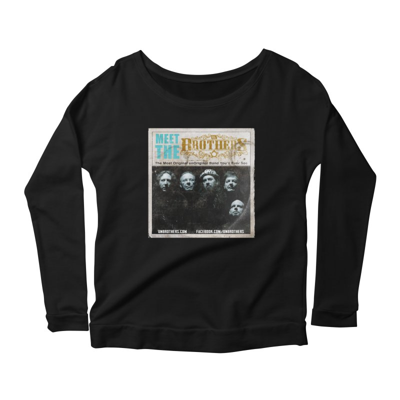 Meet the unBrothers Women's Longsleeve Scoopneck  by unStuff by unBrothers