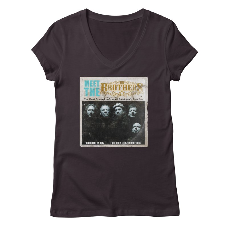 Meet the unBrothers Women's V-Neck by unStuff by unBrothers