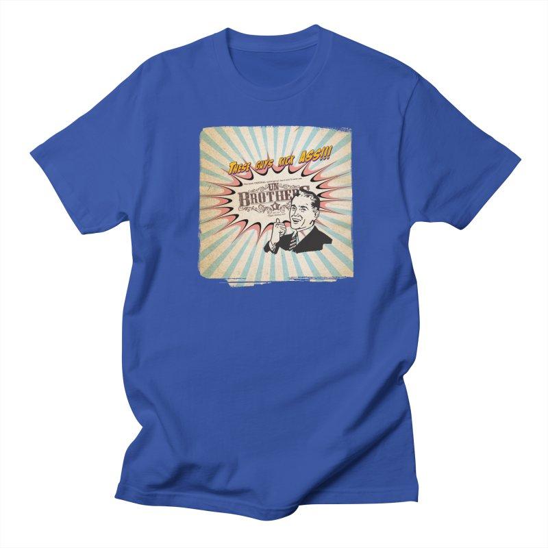 Kick Ass Men's Regular T-Shirt by unStuff by unBrothers