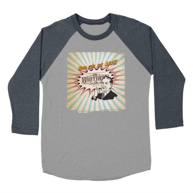 Kick Ass Women's Baseball Triblend T-Shirt by unStuff by unBrothers