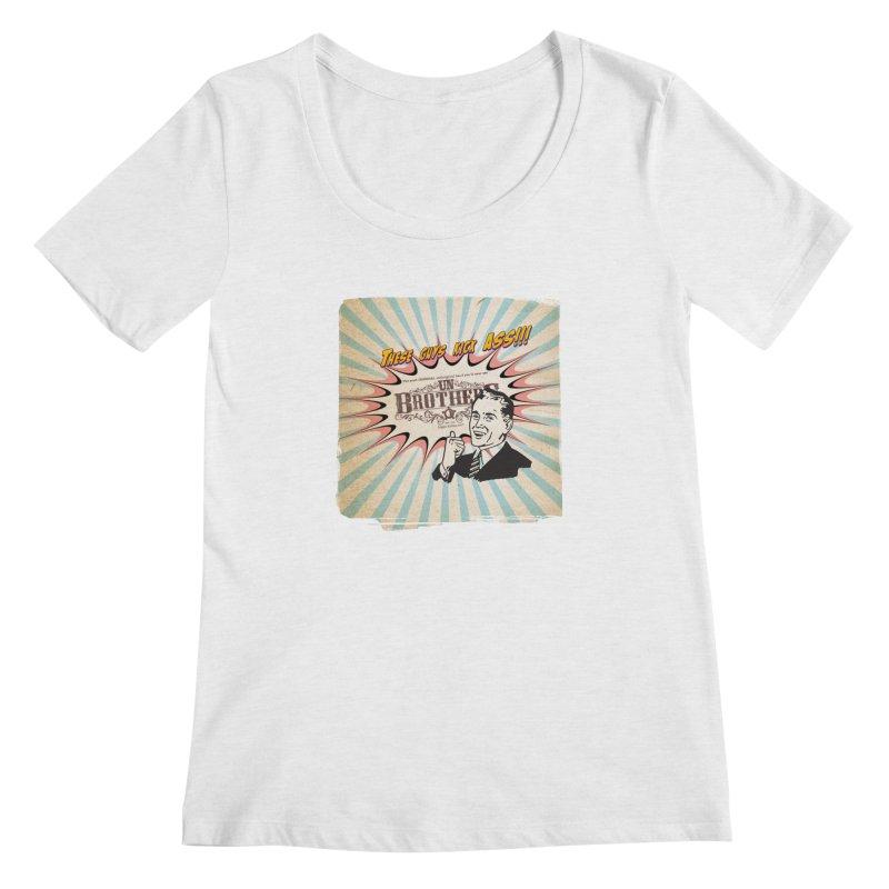Kick Ass Women's Regular Scoop Neck by unStuff by unBrothers