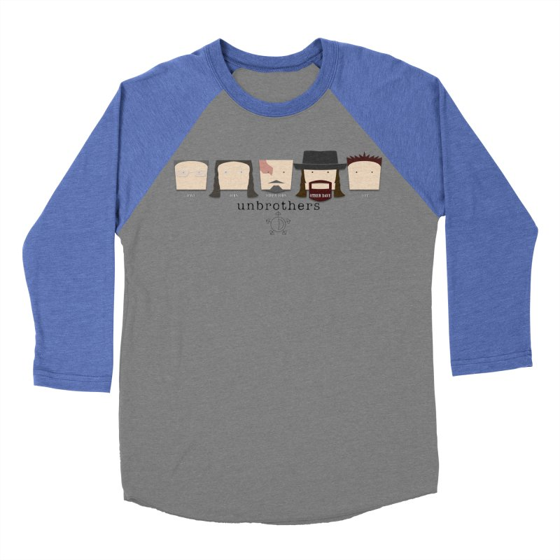 Blockheads Women's Baseball Triblend Longsleeve T-Shirt by unStuff by unBrothers