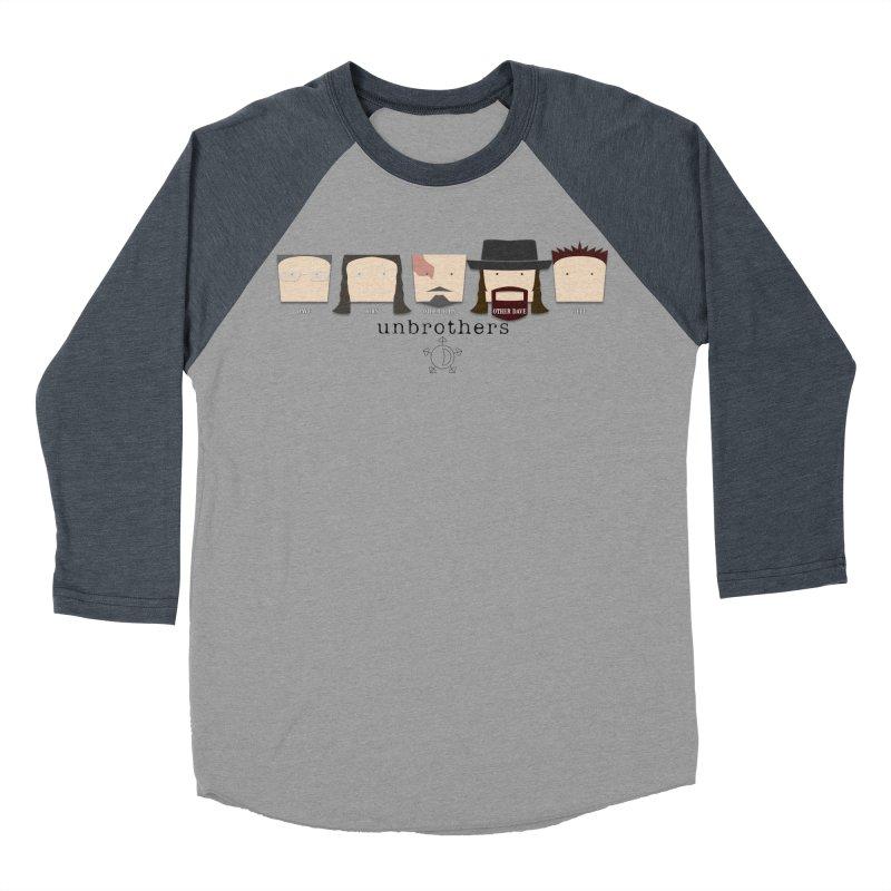 Blockheads Women's Baseball Triblend Longsleeve T-Shirt by unStuff by unBrothers